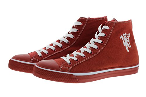 Manchester United 2016/17 Edition 1878 M115 Herren Sneaker Schuhe Leder Halbschuh Fan Sneakers (44)