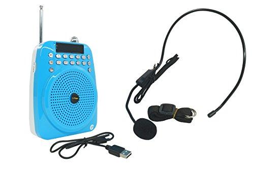 Amplificador de voz portátil Arco MP3USB Radio FM recargable M02