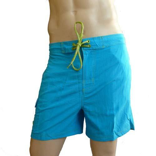 CK Swimwear – zwemshorts medium turquoise 58160W2_076