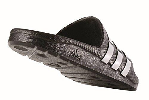 adidas Duramo Slide K – Flip Flops for Children, Black – (BLACK1/RUNBLA/BLACK1), 30