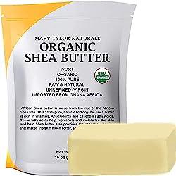 Mary Tylor Naturals, Organic Shea butter (1 lb)