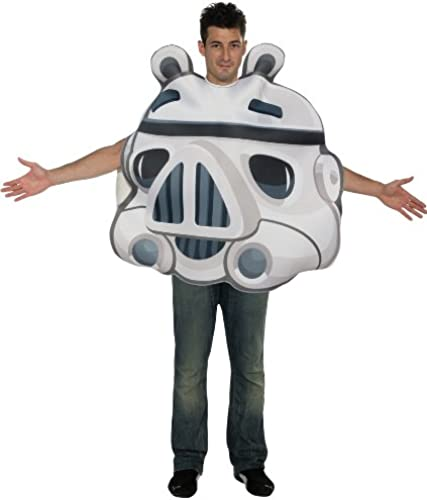 DéguiseHommest Angry birds Stormtrooper adulte - taille - Taille Unique - 219462