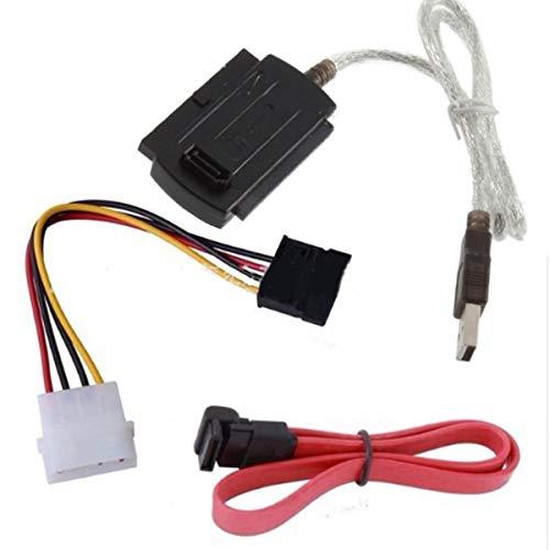 Soapow Cable convertidor adaptador USB 2.0 a SATA/IDE para disco duro 2.5 3.5