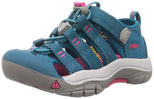KEEN 1020351_31 Outdoor Sandals, Deep Lagoon/Bright Pink, EU