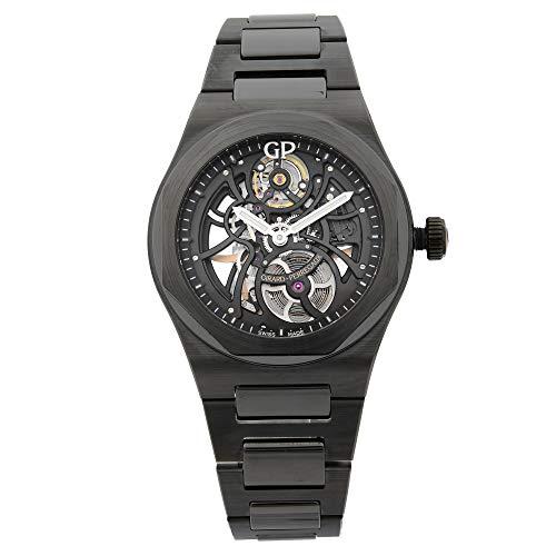 Girard Perregaux Laureato Skeleton Black Ceramic Mens Watch 81015-32-001-32A