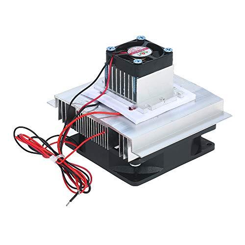 KKmoon Thermoelektrische Peltier Kühler, TEC Electron Semiconductor Kühlschrank Kühlplatte DIY Kühler Lokale Kühlung Small Space Cooling Device Kit