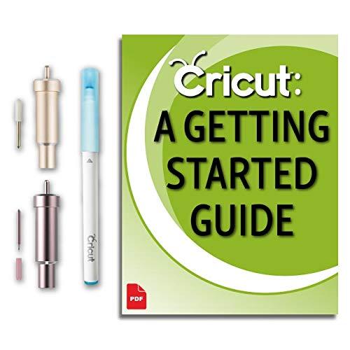 Cricut Maker - Cuchilla y carcasa de tela para máquina de tejer, hoja de punta fina premium, kit de accesorios para bolígrafo de tela