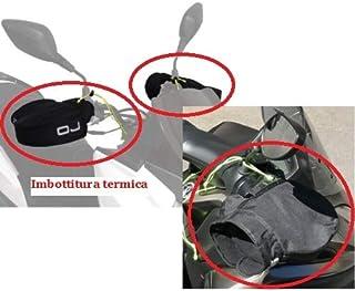 Compatible con BMW R 1200 GS cubrepuños térmico OJ C011 Micro Pro Hand paramanos Universal para Moto Scooter cubremanos de Tela con Relleno