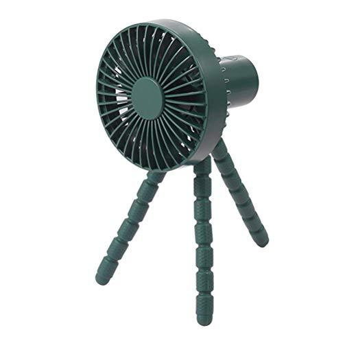 KKPLZZ Ventilador de Escritorio USB con trípode Flexible, 3 velocidades, Ventilador de Mesa de Oficina de Escritorio silencioso Whisper, Ventilador de Mano portátil con Clip para Carpa de Asiento