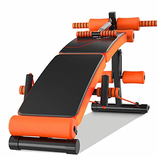 WZR Adjustable Weight Bench,Heavy Duty Fitness Bench Folding Bench Flat Incline Decline Multiuse...