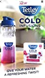 Tetley Cold Infusions Starter Pack Raspberry And Cranberry + 650ml Bottle
