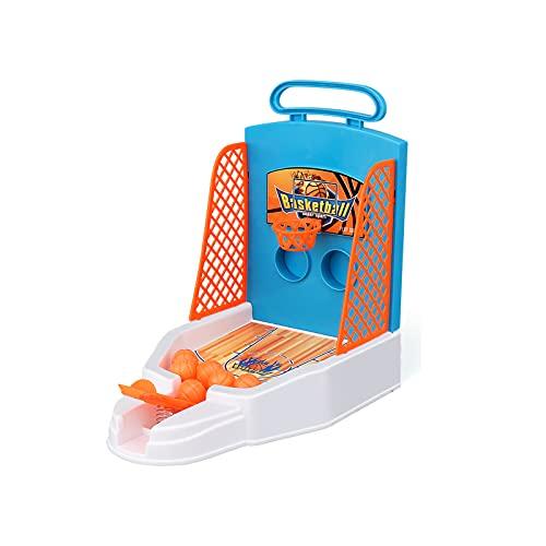 OUZHOU Baloncesto de juguete de plástico compacto educativo interesante durable dedo baloncesto