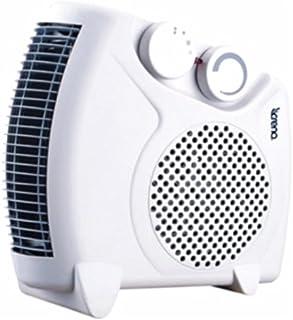 Crena 8757 Calefactor de suelo vertical, 2.000 W, 4 potencias, Blanco