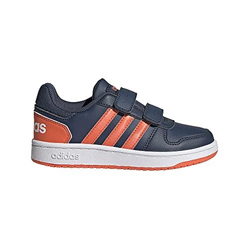 adidas Hoops 2.0 CMF C, Zapatillas de Baloncesto, AZMATR/NARAUT/FTWBLA, 28 EU