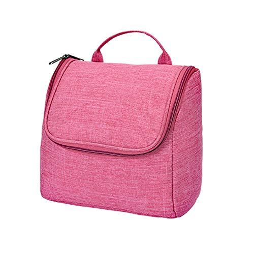 Bolsa de cosméticos portátil impermeable, gran capacidad y bolsa de almacenamiento de viaje ligera, adecuada para almacenar necesidades diarias y cosméticos