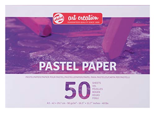 Talens Art Creation Pastellpapier DIN A3, 90g/m², 50 Blätter