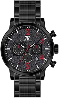 T5 H3573G-D Analog Stainless Steel Watch for Men