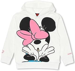 ベビードール ディズニー BIGフェイスパーカー 子供服 DISNEY Collection 90cm ミニー