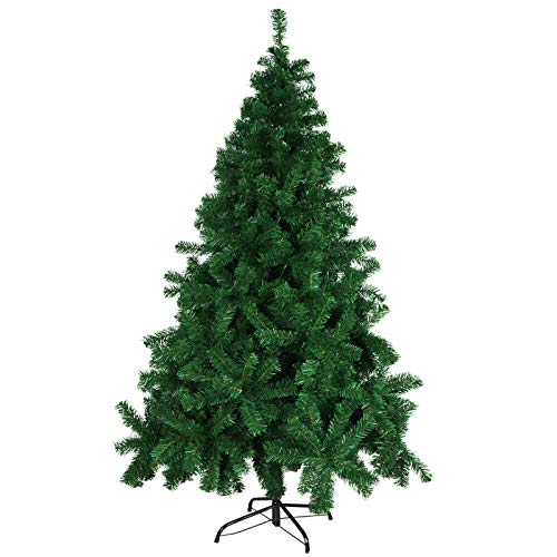 Minterest Sapin De Noel Artificiel 180 Cm, Sapin De Noël Artificiel en métal Party Living Room Home Office de Noël Décorations de Vacances
