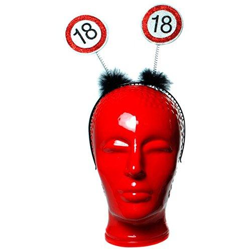 Udo Schmidt Verjaardag haarband met wiebel, 18 jaar decoratie, feest, decoratie, feest, verjaardag