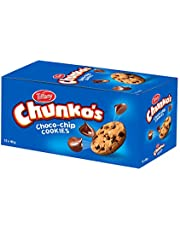 Tiffany Chunko's Bite-sized Chocolate Chip Cookies, 40g - Pack of 12