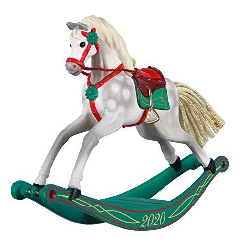 Hallmark Keepsake Christmas Ornament 2020 Year-Dated, Rocking Horse Memories