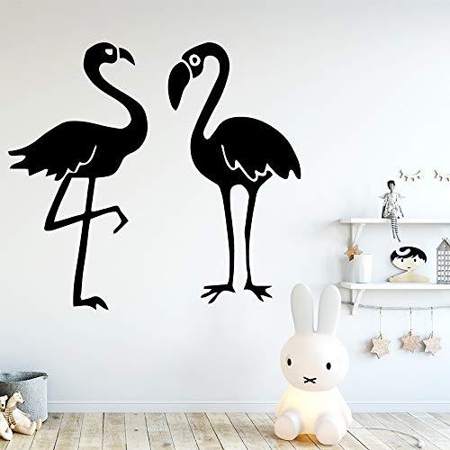 Schwan Wandkunst Dekoration Aufkleber Vinyl Home Decoration Tapete Kaffee XL 58cm X 63cm