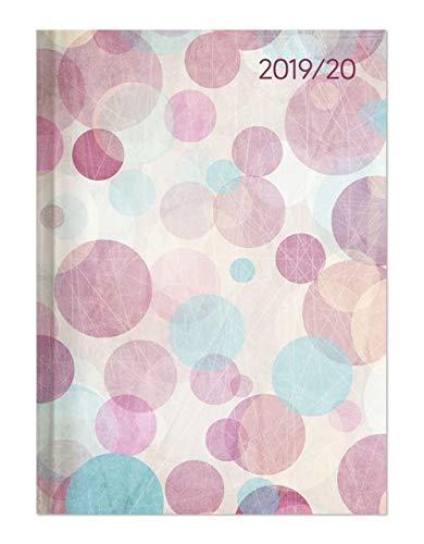 Campustimer Pastel Dream - A5 Semesterplaner - Studentenkalender 2019/2020 - Terminplaner - Notizbuch - Punkte