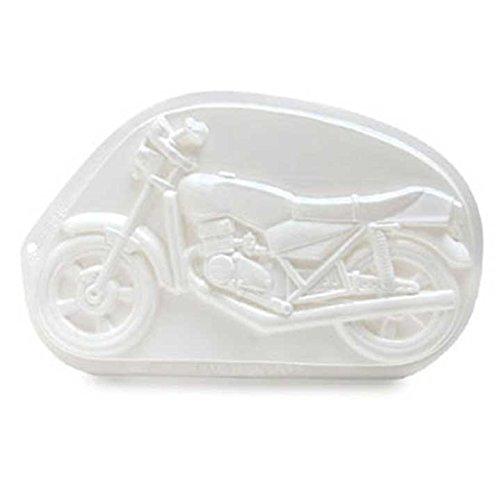 CK Products Pantastische Kuchenform aus Kunststoff für Motorräder.