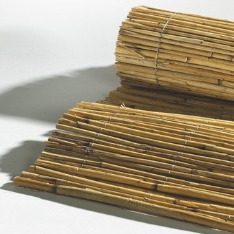 Videx-Bastelmatte Schilfrohr, helles naturfarbenes Rohr, 100 x 80 cm
