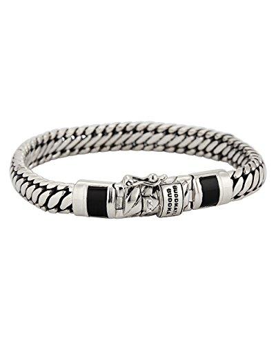 Boeddha to Boeddha damesarmband 925 zilver 19 zilver 32006001