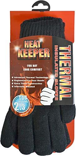 normani Heat Keeper Thermo Handschuhe mit hohem TOG-Isolationswert 2,3 Größe S/M