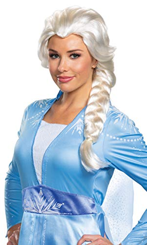 Disguise Frozen 2 Adult Elsa Wig Standard White
