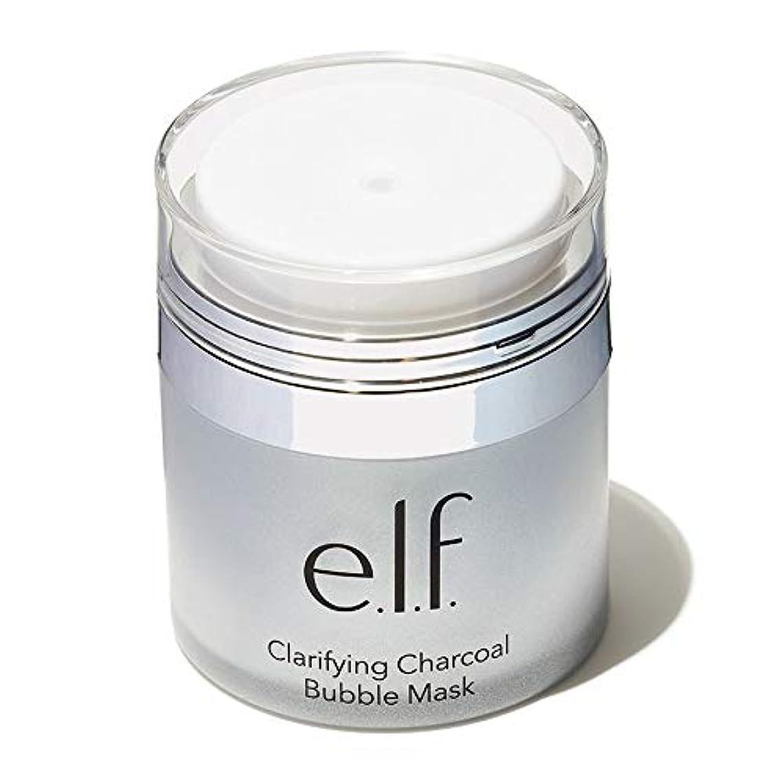 レプリカ月目覚める(3 Pack) e.l.f. Clarifying Charcoal Bubble Mask (並行輸入品)