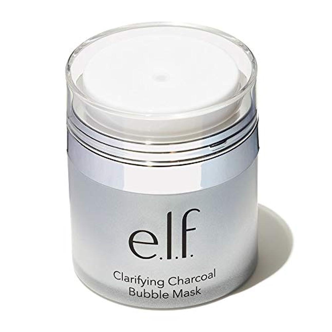 つぶやき卒業電話する(3 Pack) e.l.f. Clarifying Charcoal Bubble Mask (並行輸入品)