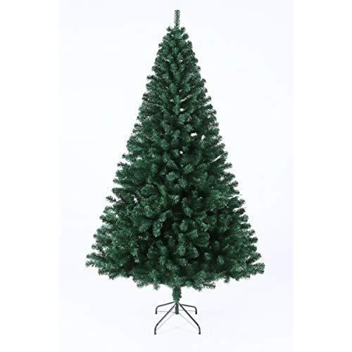 SVITA künstlicher Weihnachtsbaum Tannenbaum Deko Christbaum Kunstbaum PVC 210 cm