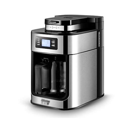 Combinatie Espressomachine, Filterkoffiezetapparaat, met LED-display, Huishoudelijke Kleine Machine Slijpbonen Poeder