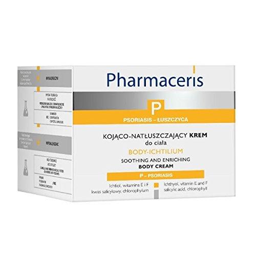 Pharmaceris P - Body-Ichtilium - Lindernde Körpercreme bei Schuppenflechte/Psoriasis (175 ml)