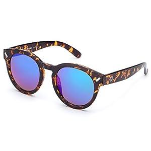839c19c619630 Amazon.com  WISH CLUB Cat Eye Bamboo Polarized Sunglasses Wood for Women  Girls Handmade Mirrored Lenses Vintage Wooden UV400 Eyewear Fashion Light  Cute Sun ...