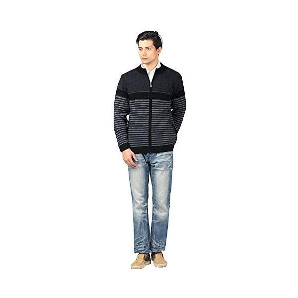 aarbee Men's Wool Round Neck Sweater 4 41r2QeE6uDL. SL500