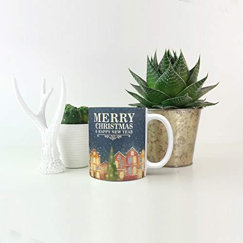 O5KFD & 8 11 OZ water cacao beker mok met handvat porselein persoonlijke beker, voor kantoor