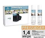 PetTec Antibell Spray Trainer Pro Erziehungshalsband mit automatischer Sprühfunktion inkl. Antibell...