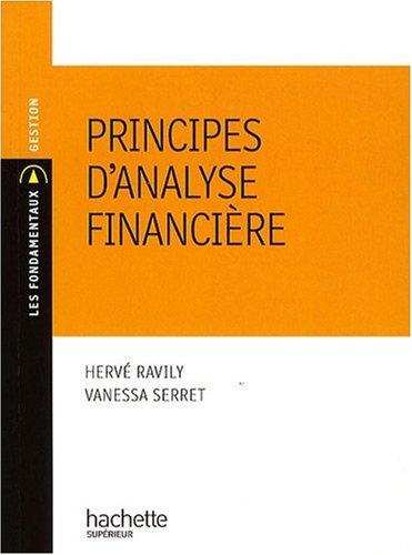 Principes d'analyse financière PDF Books