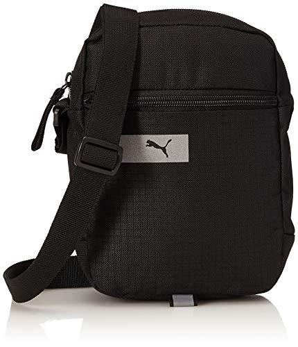 PUMA Unisex 4059506126758 Tragbare Sporttasche Vibe, schwarz, Einheitsgröße, Negro, Standard