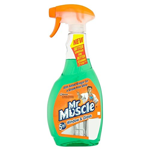 Mr Muscle Finestra 5In1 E Detergente Per Vetri (500ml) (Confezione da 6)