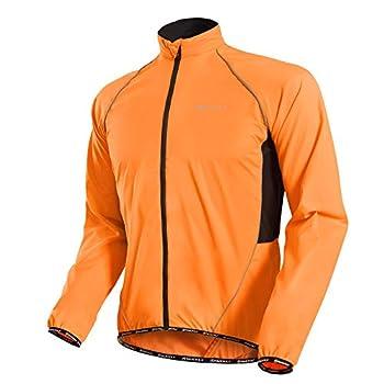 NUCKILY Men s Cycling Jacket Jersey Skin Coat Windbreaker Raincoat Waterproof Anti-UV Portable Long Sleeve Outdoor Sportswear