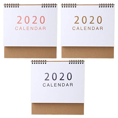 Chic - Calendario de escritorio 2020, agosto de 2019, calendario ...