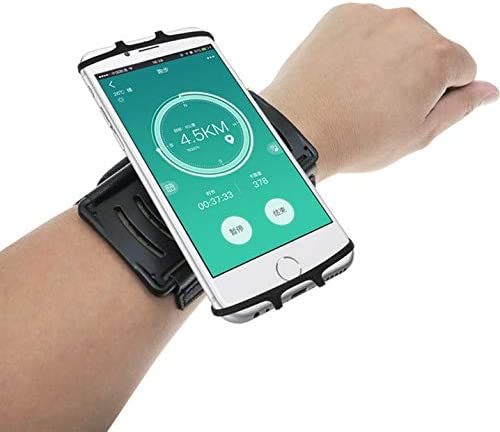Running Armband for iPhone 12 Pro Max 11 Pro Max XR 180 Rotatable Wrist Band Phone Holder Case product image
