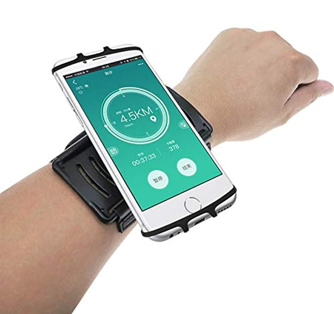 Running Sport Gym Wrist Band Bag Armband Pouch for Samsung Galaxy S10 / S9 Plus/Note 9 / Note 8 / J7 Prime 3 / iPhone Xs Max/iPhone XR/iPhone X/XS/iPhone 8 Plus/OnePlus 6T (Black) vefmjnrp2
