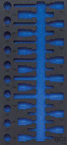 BGS 4119-1 | Insert de servante d'atelier 1/3 | vide | pour art. 4119